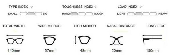 Calibar Black Eyeglasses 4 LN_1103