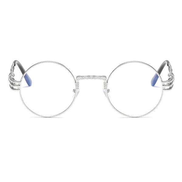 Buford Silver Eyeglass