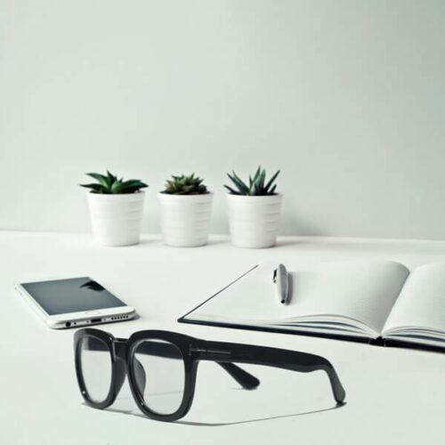 Cole Black Eyeglasses (ANTI-BLUE) 12 LN_1191-AB