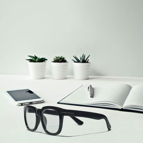 Cole Black Eyeglasses (ANTI-BLUE) 5 LN_1191-AB