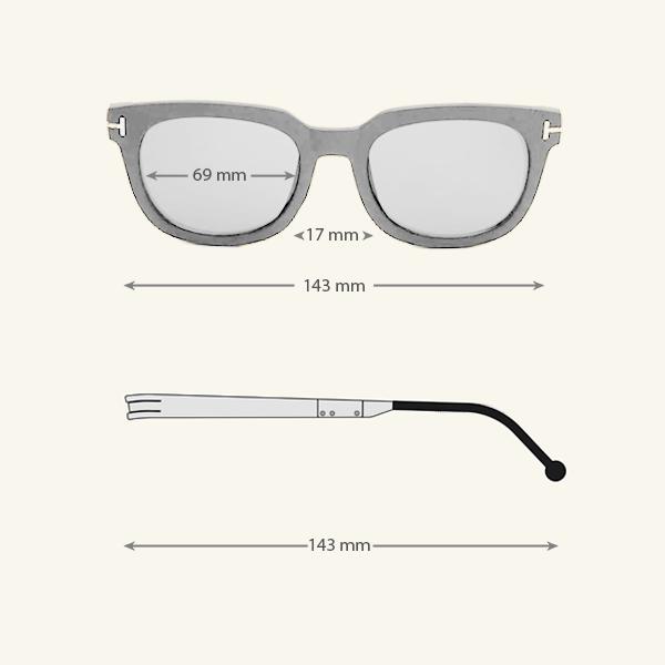 Cole Black Eyeglasses (ANTI-BLUE) 16 LN_1191-AB
