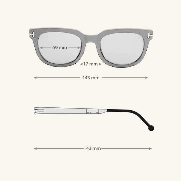 Cole Black Eyeglasses 8 LN_1191