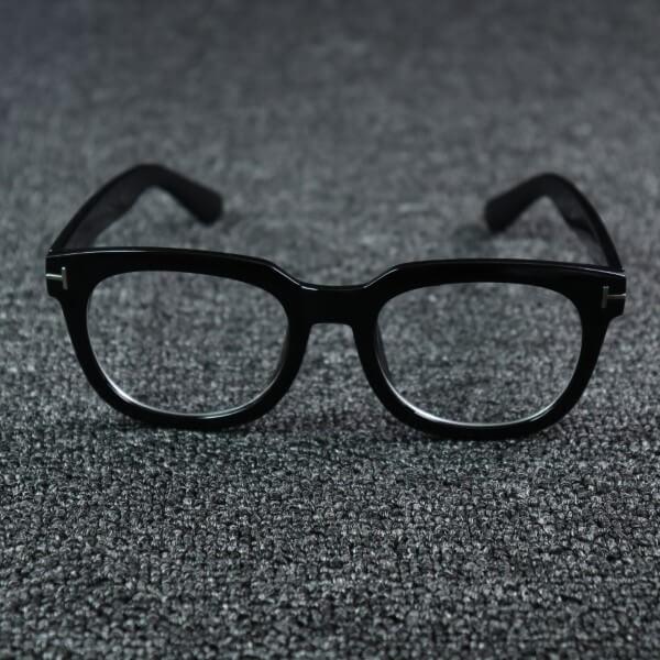Cole Black Eyeglasses (ANTI-BLUE)